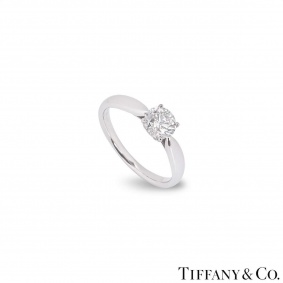 Tiffany & Co. Platinum Diamond Harmony Ring 0.72ct I/VS1 XXX